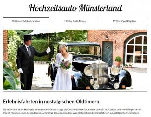 Hochzeitsauto-Münsterland